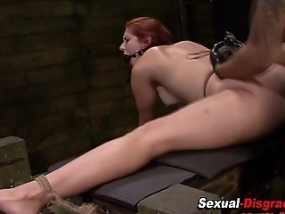 Bdsm babes pussy rammed