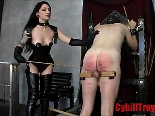 Very Hard Whipping By Two hot domes FemaleDomination.org